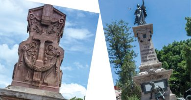Monumentos: personajes de metal que atestiguan el día a día de Querétaro
