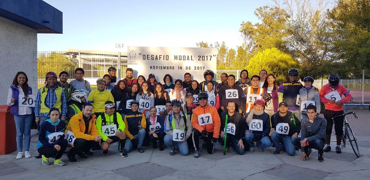 Photo of Motocicleta y bicicleta ganan el  «Desafía Modal» como el transporte más rápido en Querétaro