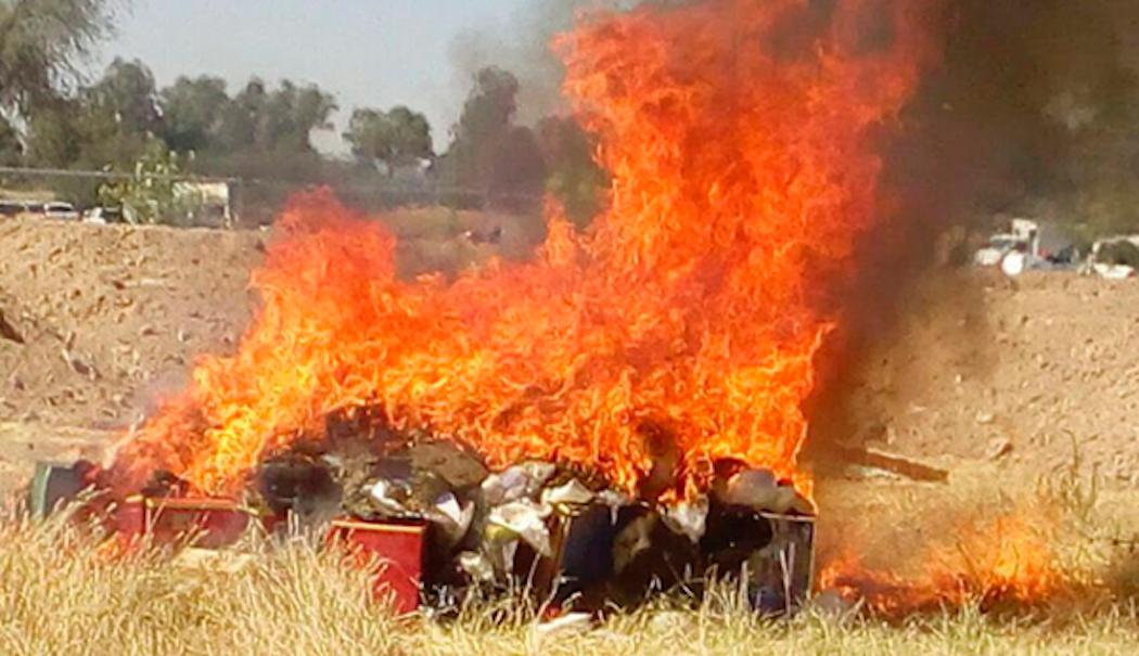 Photo of Destruye la PGR casi 30 kilos de cocaína y metanfetaminas en Querétaro
