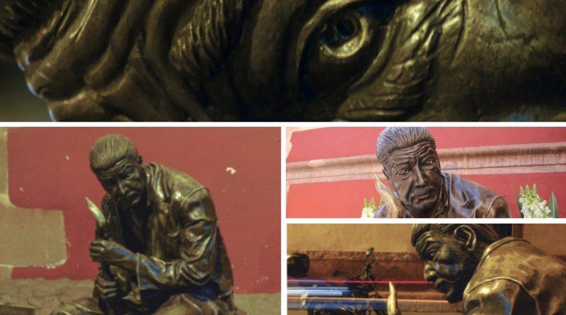 Querétaro, esculturas, poesía, bronce, arte, artistas, poeta, escultor