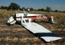 Atienden accidente de avioneta