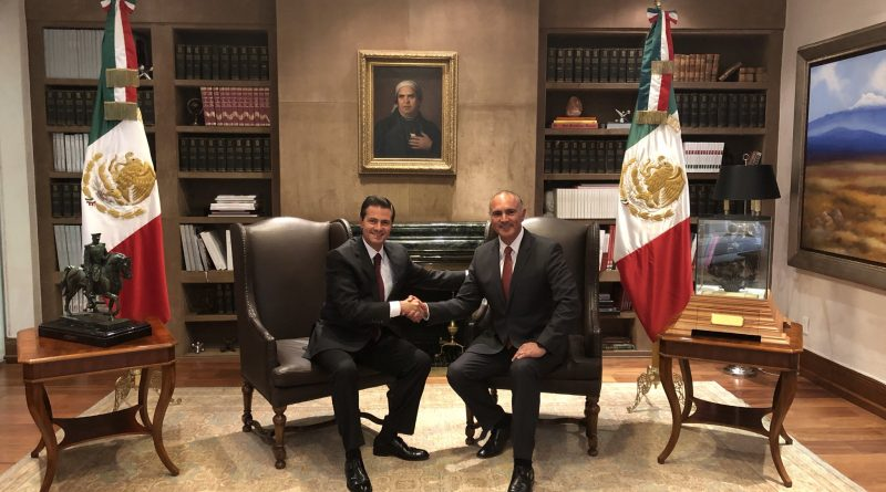 Renuncia José Calzada Rovirosa a la SAGARPA