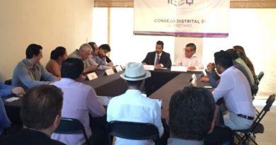 Palomea IEEQ candidaturas; solo reprueban al PRD en San Juan