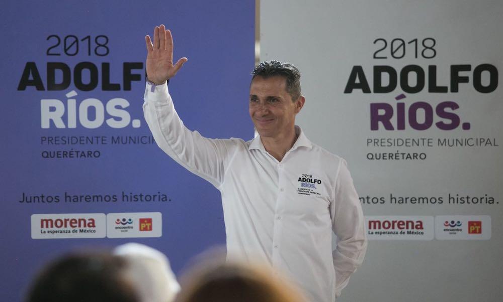 Photo of Asegura Adolfo Ríos que no gastará un solo peso en acarreos de gente durante su campaña