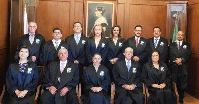 Magistrados se despiden del Tribunal Superior de Justicia de Querétaro