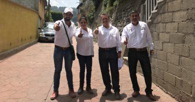 Realizan gira en Pinal de Amoles David Palaciosy Hugo Cabrera