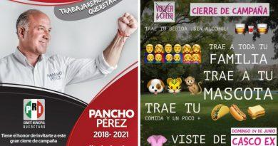 Se disputan candidatos a queretanos en domingo para cierres de campaña