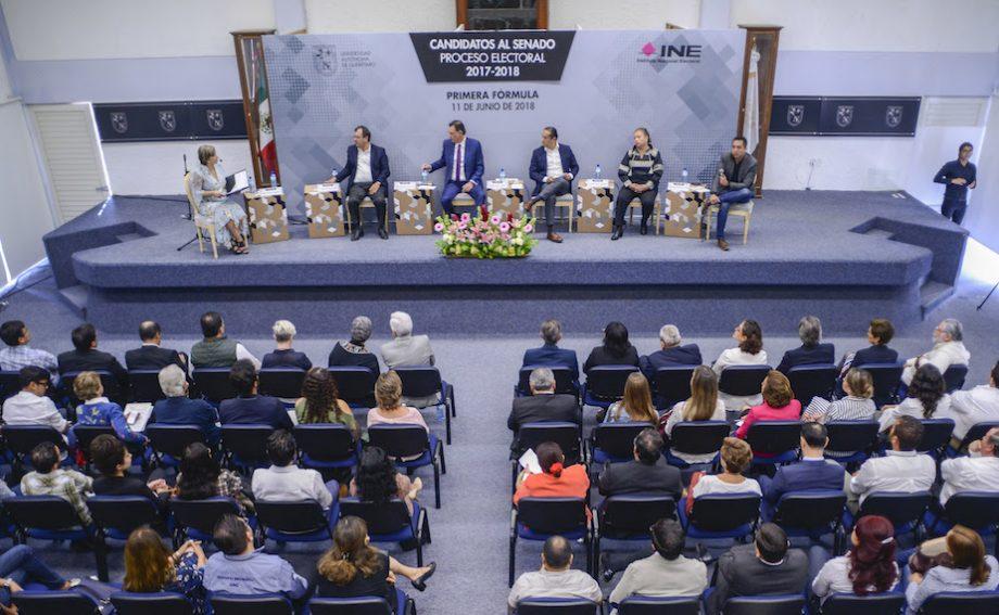 Photo of Candidatos al Senado debaten en la UAQ