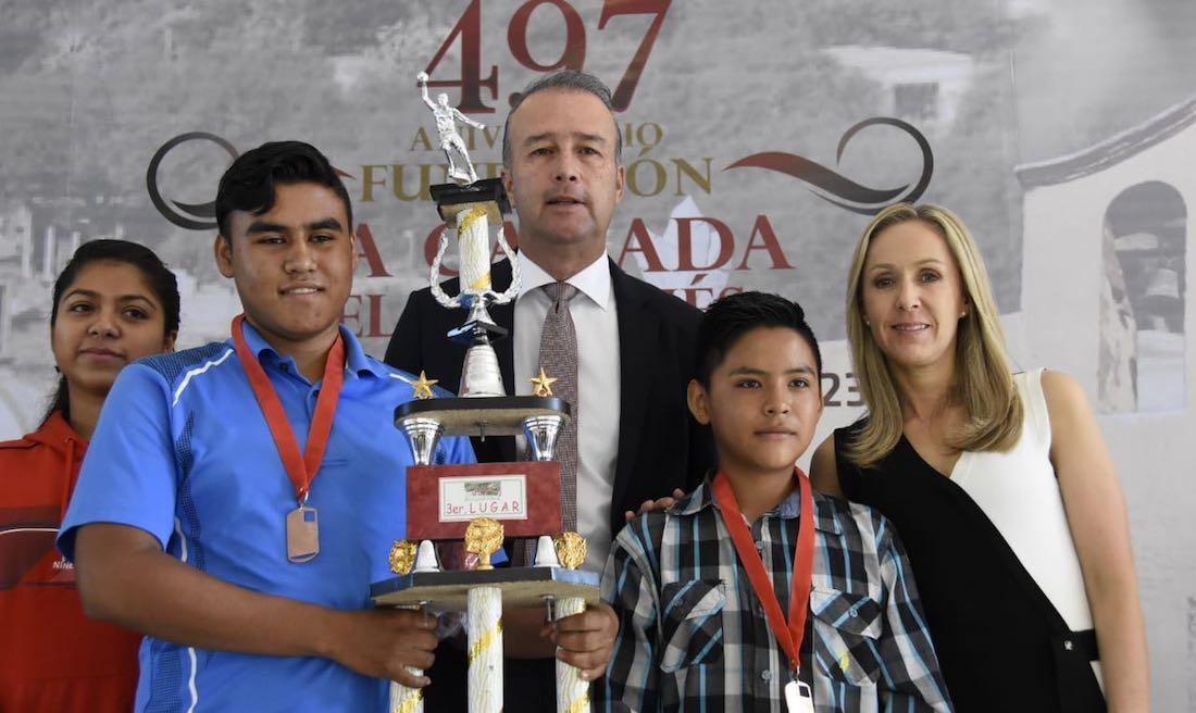 Photo of Conmemora Mario Calzada 497 Aniversario de la fundación de La Cañada