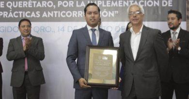 Reconoce la UAQ a Corregidora como un municipio transparente