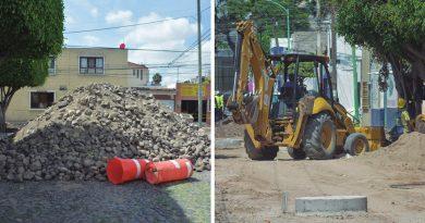 Exigían vecinos reparación de las calles