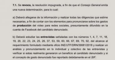 "Da tribunal ""jalón de orejas"" al INE por caso Nava: Morena"