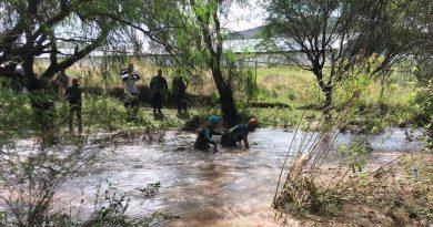 Recuperan cuerpo de persona arrastrada por río en El Marqués