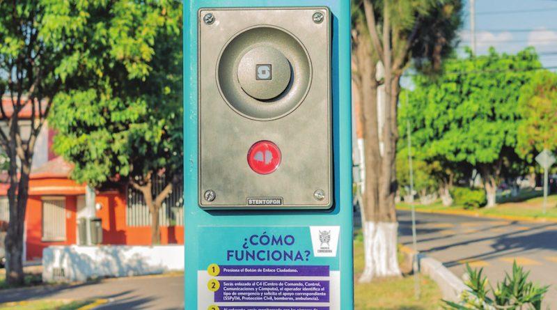 Botones de Enlace Ciudadano, nueva herramienta de seguridad en Corregidora