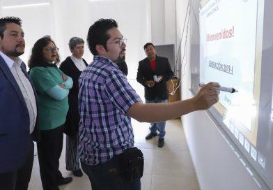 Campus Concá cuenta con un aula inteligente gracias a la Facultad de Ingeniería