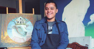 Erick Huilcatzin: la joven promesa de las artes plásticas en Querétaro
