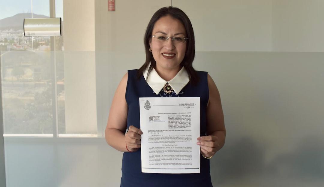 Photo of Presenta Beatriz Marmolejo Rojas iniciativa para evitar la defraudación de Desarrolladores Inmobiliarios