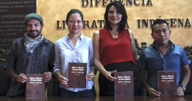 """Presentan libro """"Relatos de la diferencia y literatura indígena"""", de  Luz María Lepe"""