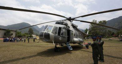 Mueren 7 al estrellarse helicóptero en la sierra queretana