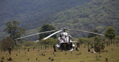 Equipará Querétaro helicóptero para combatir incendios