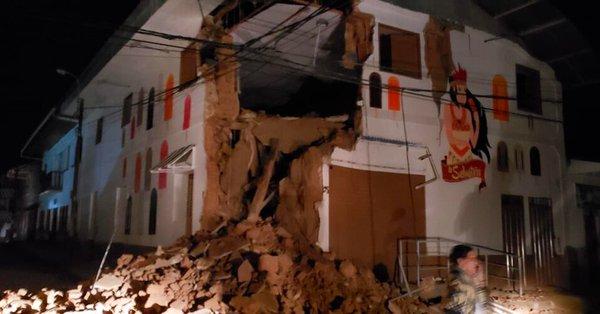 Photo of Reportan 1 muerto y 11 heridos por sismo en Perú