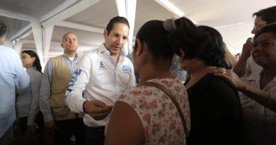 Anuncia Gobernador programa de obras de beneficio social para el municipio de Querétaro