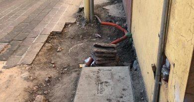 Abandona CFE obras de cableado subterráneo en antigua estación del ferrocarril: Osejo