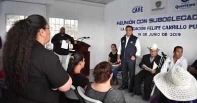 Anuncia Luis Nava inversión de 106.4 MDP para comunidades de Carillo Puerto