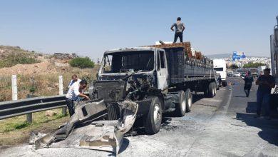 Photo of Fuerte accidente sobre la cuesta china