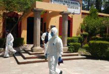Photo of Sanitizan presidencia municipal de Tequisquiapan