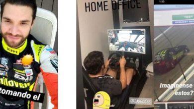 Photo of Así hacen «home office» los pilotos de carreras