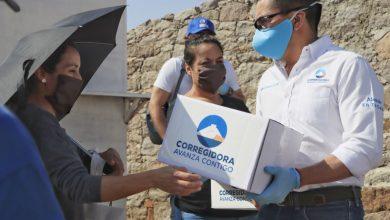 Photo of Entregan paquetes alimentarios en comunidad de Bravo