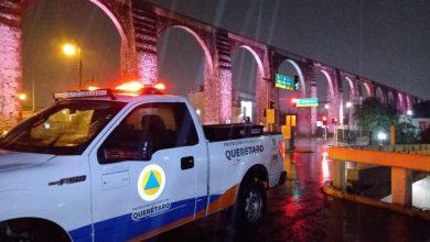 Photo of Atendió Municipio de Querétaro 5 viviendas afectadas por las lluvias de esta noche y madrugada