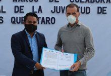Photo of Firma convenio IMJUM, El Marqués para incentivar el deporte en la juventud