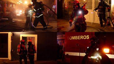 Photo of Anoche   Incendio en casa habitación en Casa Blanca