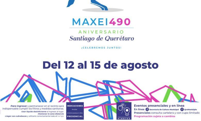 Listo festival Maxei con más de 300 artistas en formato híbrido – El  Queretano